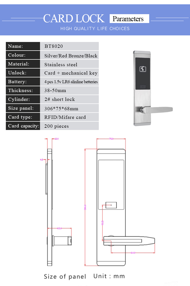 OneLock HL005-Detail